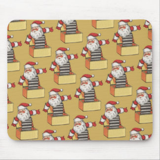 Papai noel de Jack in the Box Mouse Pad
