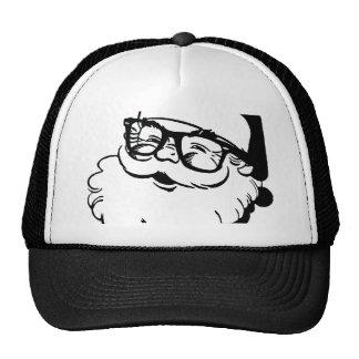 papai noel do hipster boné