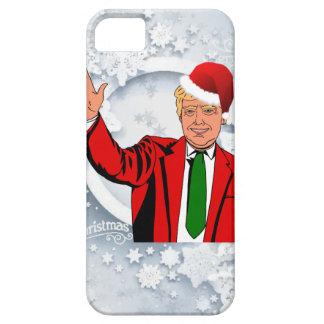papai noel Donald Trump do Natal Capas Para iPhone 5