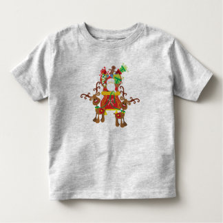Papai Noel e camisa bonitos das renas  