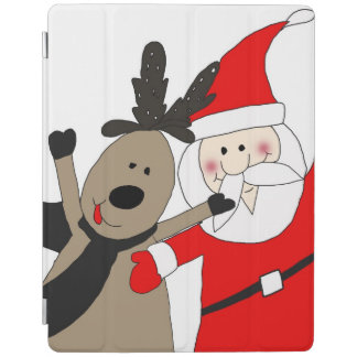 Papai noel e rena alegres #1 capa smart para iPad