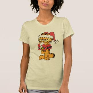 Papai noel Garfield Tshirts