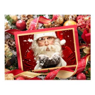 Papai noel ou SEU cartão de Natal feito sob
