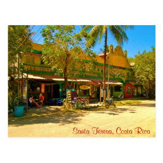 Papai noel Teresa, cartão de Costa Rica