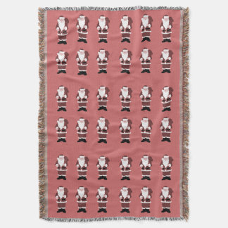 Papai Noel Throw Blanket
