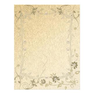 Papéis finos papel de carta