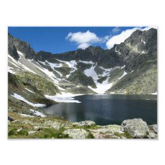 Papel alto da foto de Tatras Slovakia (cetim)