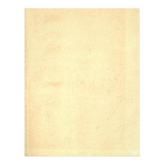 Papel antigo amarelado vazio flyer 21.59 x 27.94cm