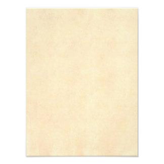 Papel antigo de Tan Brown do pergaminho do Impressão De Foto