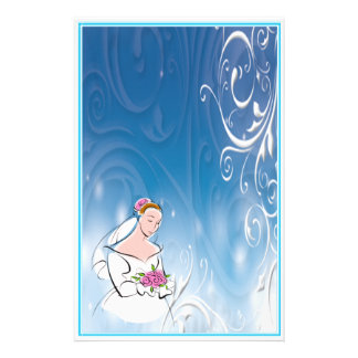 Papel de carta 4 Wedding Papéis Personalizados
