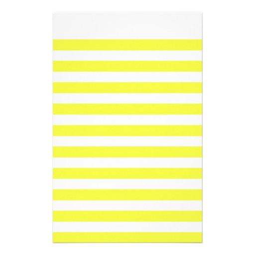 Papel de carta amarelo do papel do livro de nota papel personalizado