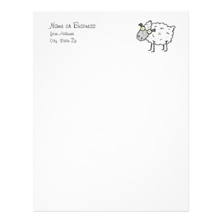 Papel de carta de Sheepy
