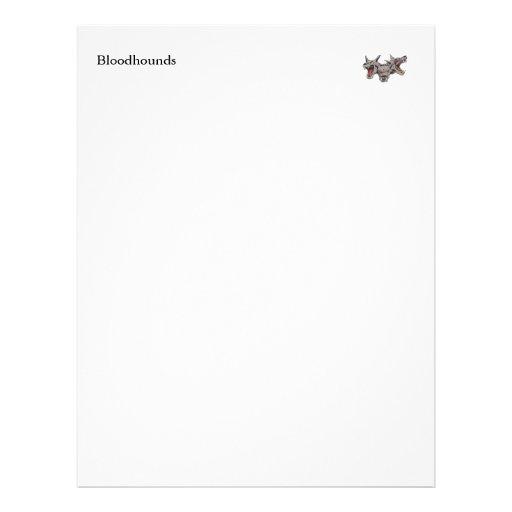 Papel de carta do Bloodhound