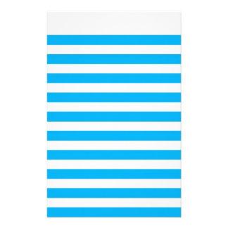 Papel de carta do papel do livro de nota azul papelaria