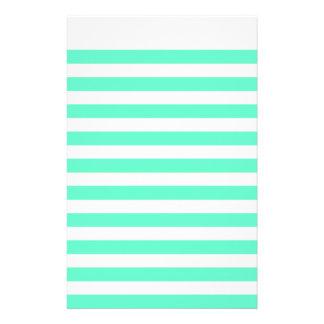 Papel de carta do papel do livro de nota do Aqua Papéis Personalizados