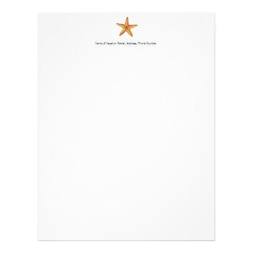 Papel de carta para a propriedade de aluguer das f