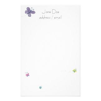 Papel de carta personalizado papelaria