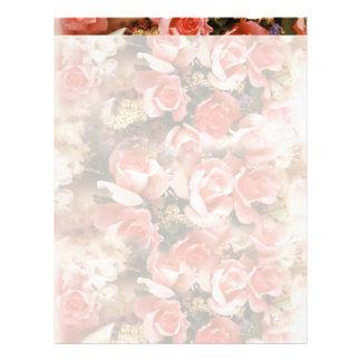 Papel de Carta Rosas