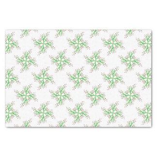 papel de embrulho do design do azevinho