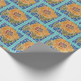 Papel de embrulho do mosaico do azulejo do