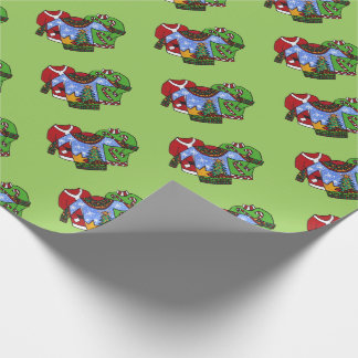 papel de embrulho feio da camisola