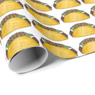 Papel de embrulho mexicano de Foodie do Tacos de
