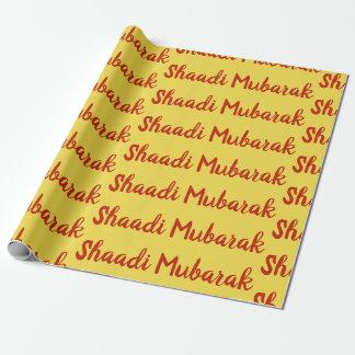 Papel de embrulho paquistanês indiano de SHAADI