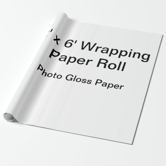 Papel de Presente Fosco, Rolo de 76,2 cm x 1,8 m
