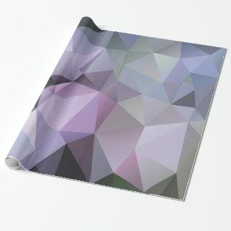 Papel de envolvimento geométrico do polígono - papel de presente