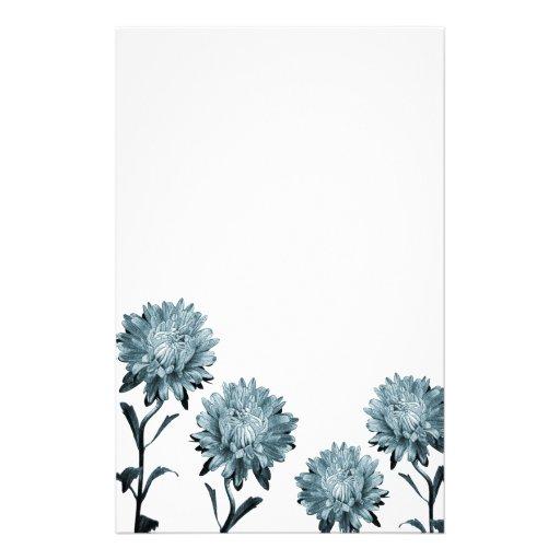 Papel de nota azul obscuro dos ásteres papel personalizado