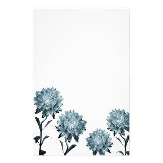 Papel de nota azul obscuro dos ásteres papelaria