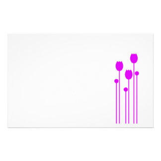 Papel de nota design tulpe papel de carta lilás pi papelaria