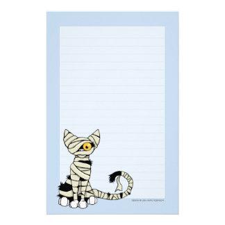 Papel de nota do gato | o Dia das Bruxas da mamã a Papelaria