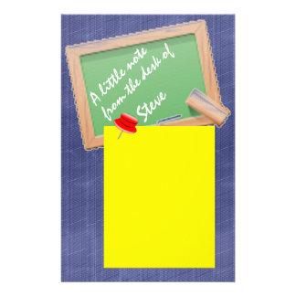Papel de nota personalizado papelaria