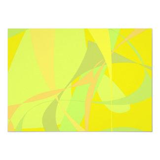Papel de parede amarelo convite
