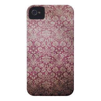 Papel de parede cor-de-rosa escuro do damasco do capa para iPhone