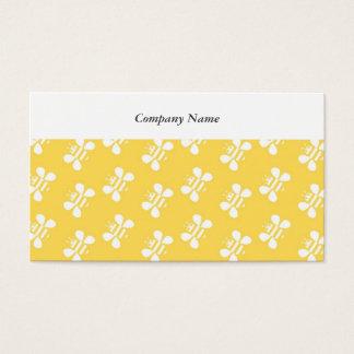 Papel de parede da abelha cartão de visitas