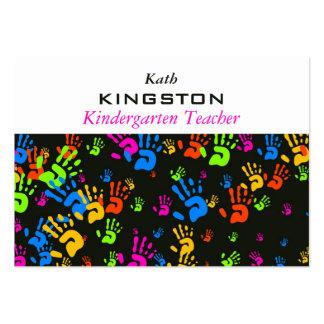 Papel de parede das mãos cartão de visita grande