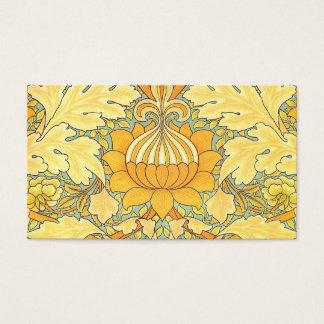 Papel de parede de William Morris para o lugar de Cartão De Visitas