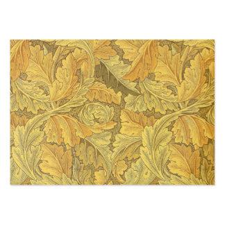 Papel de parede do Acanthus de William Morris Cartão De Visita Grande