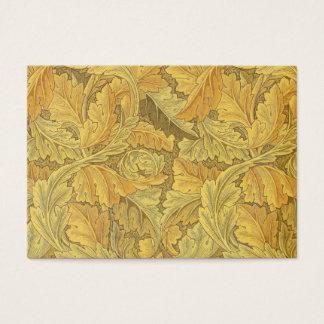 Papel de parede do Acanthus de William Morris Cartão De Visitas
