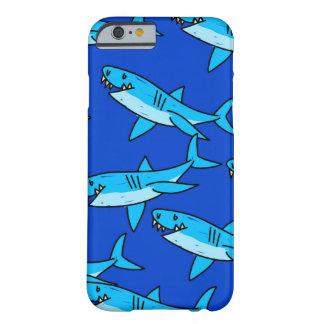 Papel de parede do tubarão capa barely there para iPhone 6