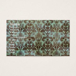 Papel de parede do vintage do chocolate e da cartão de visitas