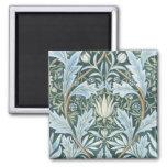 Papel de parede floral elegante de verde azul do v imas