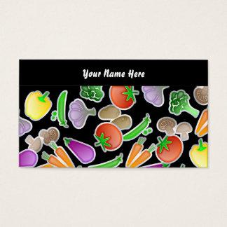 Papel de parede vegetal, seu nome aqui cartão de visitas