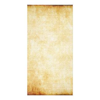 Papel de pergaminho do fundo | cartão com foto
