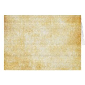 Papel de pergaminho do fundo | cartão de nota
