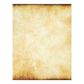 Papel de pergaminho do fundo | flyer 21.59 x 27.94cm