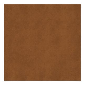 Papel de pergaminho Tanned couro Templ de Brown do Convite