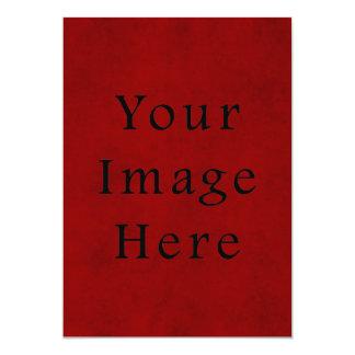 Papel de pergaminho vermelho do Natal do feriado Convites